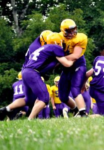 Purple and Gold Scrimmage