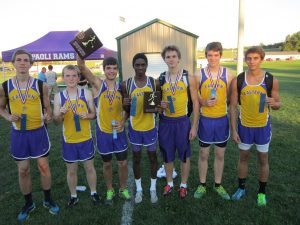 Boys Cross Country Finishes 1st in Paoli Invitational