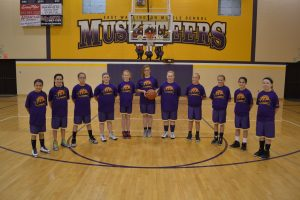 5th Grade Girls BB Lanesville