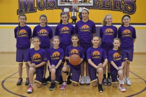 6th Grade Girls BB Lanesville