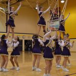 Cheerleaders Lead School Spirit