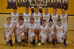8th Basketball vs. Clarksville  11/12/13