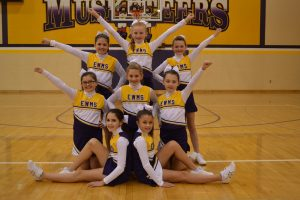 5th Grade Cheerleaders