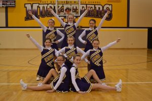 6th grade Cheerleaders