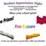 EWMS Student Appreciation Night
