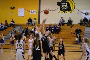 7th & 8th Girls Basketball Photos vs. Henryville
