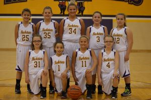5th Grade Lady Musketeers vs. West Washington