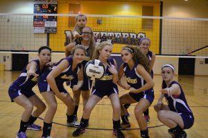 MS Volleyball vs Salem
