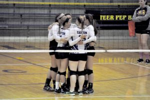 08-25-15 Volleyball v. Clarksville