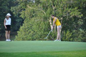 09-01-15 Girls Golf v. Salem, Brownstown