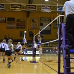 Eastern High School (Pekin) Girls Varsity Volleyball falls to Mitchell High School 18-25