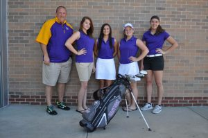 09-14-15 Girls Golf Team