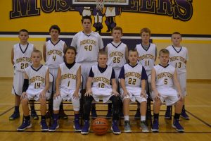 7th Grade Boys BB  Clarksville  11-10-15