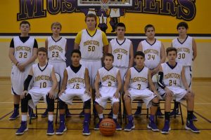 8th Grade Boys BB Clarksville 11-10-15