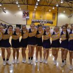 MS Cheerleaders lead School Spirit