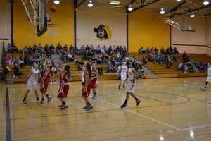 7th Girls BB  W. W. 12-7-15