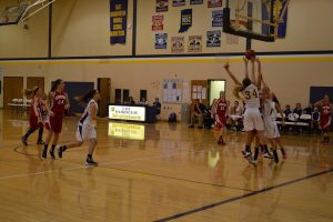 8th Girls BB W. W. 12-7-15