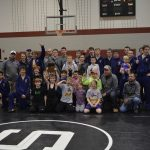 Eastern High School (Pekin) Coed Varsity Wrestling beat Salem High School 48-36