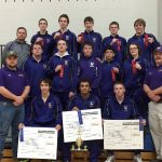 Eastern High School (Pekin) Coed Varsity Wrestling finishes 1st place