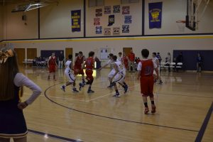 8th Grade Boys BB vs. West Washington 1-25-16