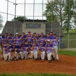 Eastern High School (Pekin) Varsity Baseball beat Salem /ww Dh 5-4