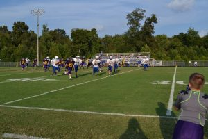 7th Grade Football vs Mitchell 9-8-16
