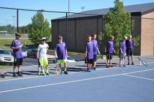 Boys Tennis vs Salem  9-12-16