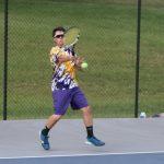 HS Boys' Tennis Team Defeats Corydon