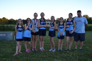East Washington Cross Country Invitational Meet  9-19-16