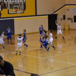 Lady Musketeers split with North Harrison