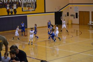 6th grade Girls BB North Harrison 10-18-16