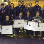 Eastern High School Coed Varsity Wrestling finishes 1st place