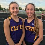 Eastern High School Girls Varsity Track finishes 6th place