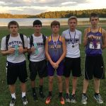 Boys Varsity Cross Country Finishes 2nd Out of 13 at Scottsburg Invitational