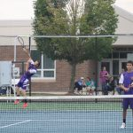 Boys Tennis Team defeats Corydon