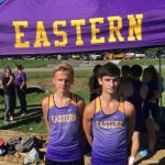 Uriah Guthrie and Brandon Sill Advance to Brown County Semi State Cross Country Meet