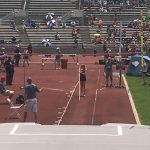 Olesh Qualifies and Competes in the State Track Meet