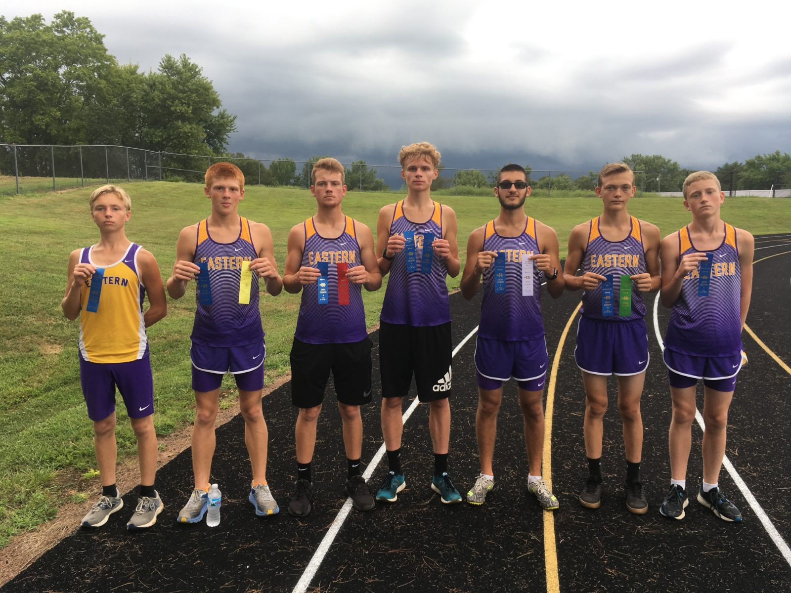 Boys Cross Country Opens with Win Over Orleans