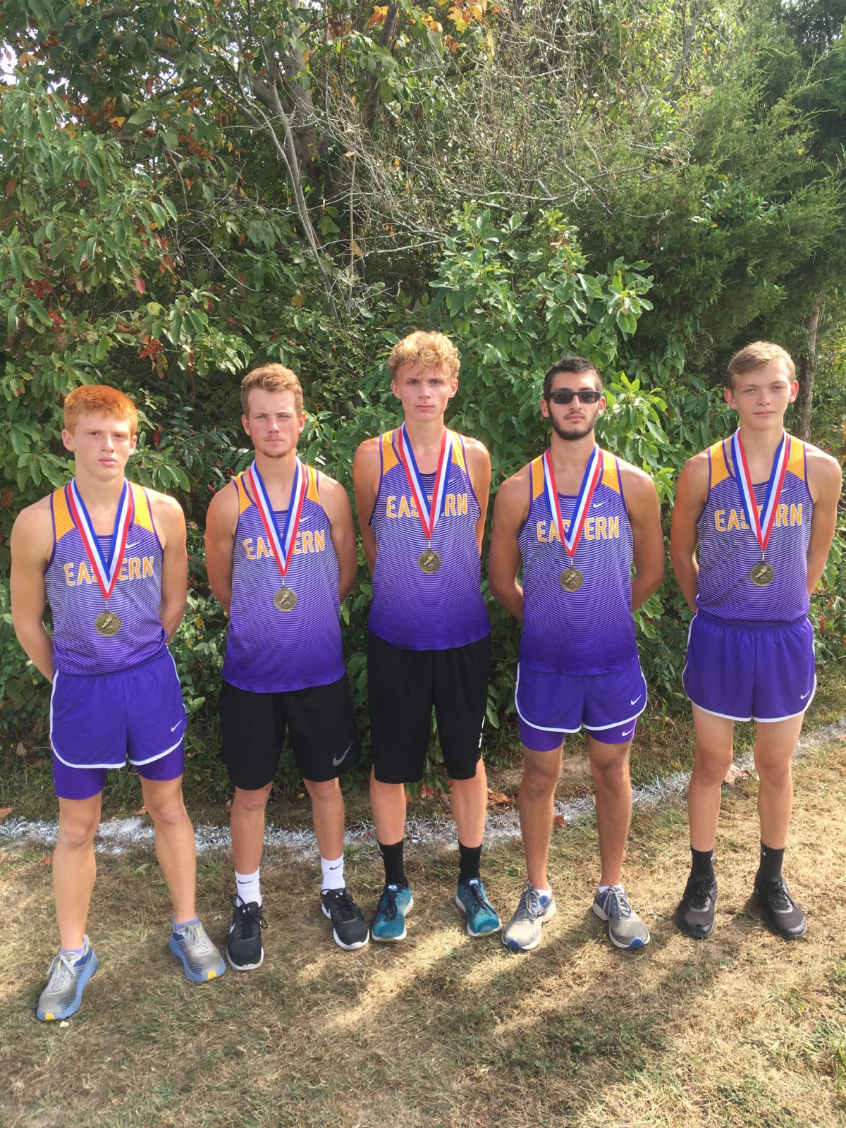 Boys Cross Country Finish 3rd out of 27 at Crawford County Invite