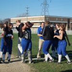 Softball splits with FH Northern