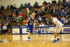 Varsity Basketball over Catholic Central Game Pics