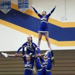 Competitive Cheer takes first place in home meet