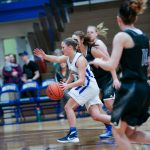 Izzy Redfield playing 'Iron Woman' role as NorthPointe Christian's team leader