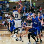 Boys Varsity Basketball falls to Kelloggsville, 61-50