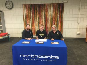 Austin Koenes signs Letter of Intent to Anderson University