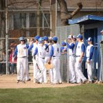 Varsity Baseball beats Kelloggsville High, 6-2