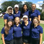 Girls Varsity Golf finishes 2nd place