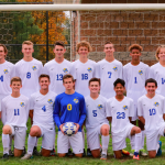 Varsity Soccer beat Fruitport Calvary, 8-0, to advance to District Finals