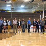 NorthPointe Christian High School Girls Varsity Volleyball beat vs Lee HS 3-0