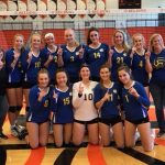 NorthPointe Christian High School Girls Varsity Volleyball wins OK Silver Conference